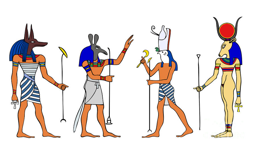 The Gods - Ancient Egypt